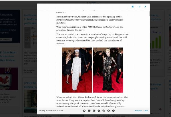 23   MultiPlx: Visually Appealing & Responsive RSS Reader
