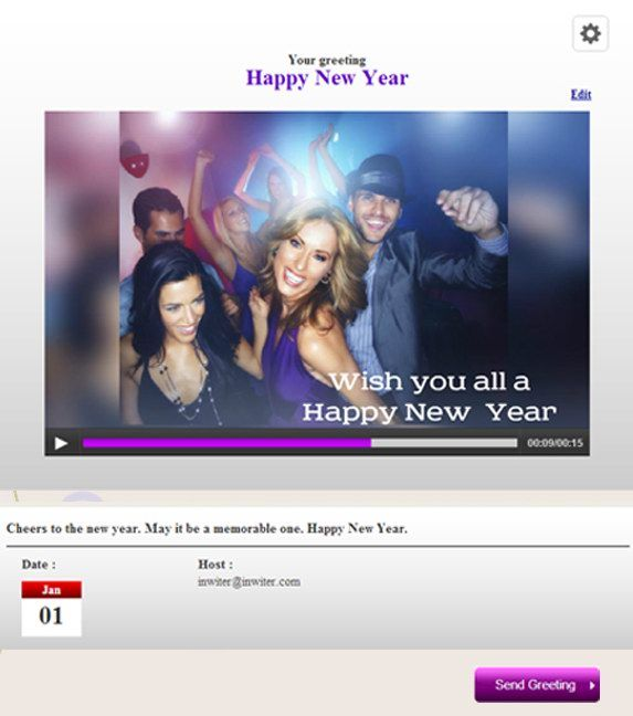 inwiter: Create Custom Video Invitations & Greetings 31