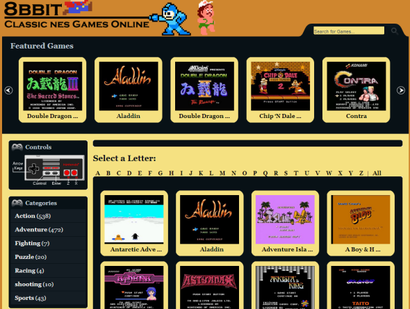 play free nes games