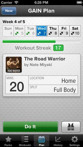 gain fitness cross trainer