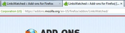opening duplicate tab firefox