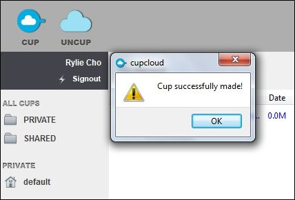 CupCloud: Store Your Computer Usage Sessions & Easily Load Them On Other Machines Made