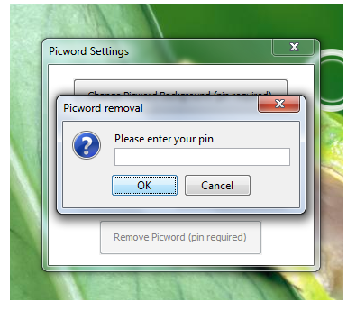 Picword: Click On a Picture To Unlock Your Computer Pin