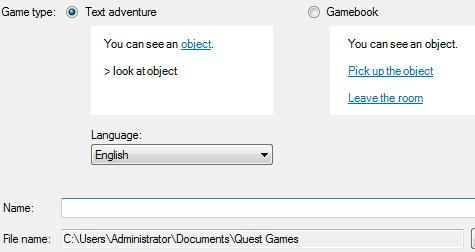 Quest1   Quest: Create & Play Text Based Games On Your Windows Computer