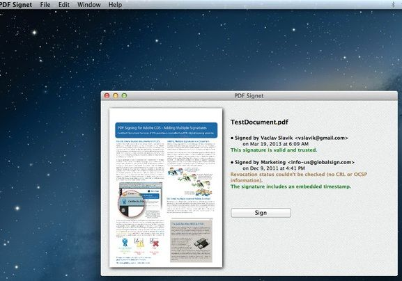 sign pdf documents mac