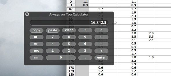 calculator mac os