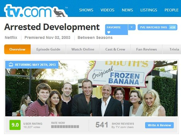 Keeping Up With The Bluth Family: Discover Arrested Development On The Web arrested development tvcom
