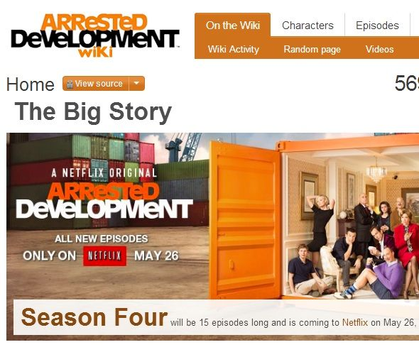Keeping Up With The Bluth Family: Discover Arrested Development On The Web arrested development wiki
