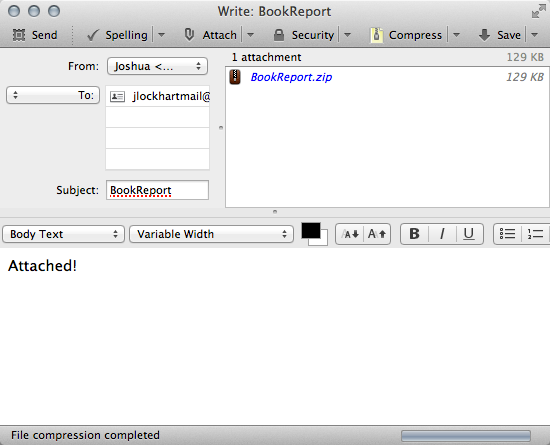 auto compress file