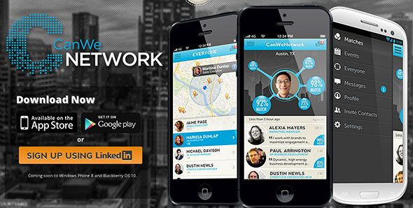 mobile app for business networking