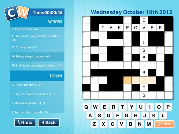 Ipad Crossword App Review