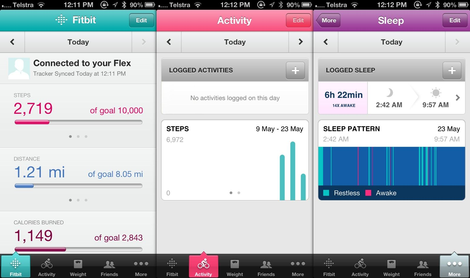 Fitbit flex vs jawbone up a comparative review fitbit flex jawbone up review baditri Gallery