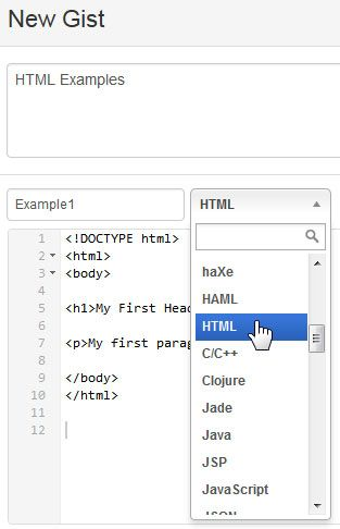 organize code snippets