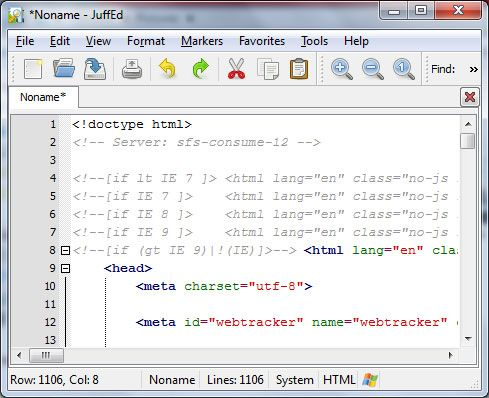 text editor for programmers