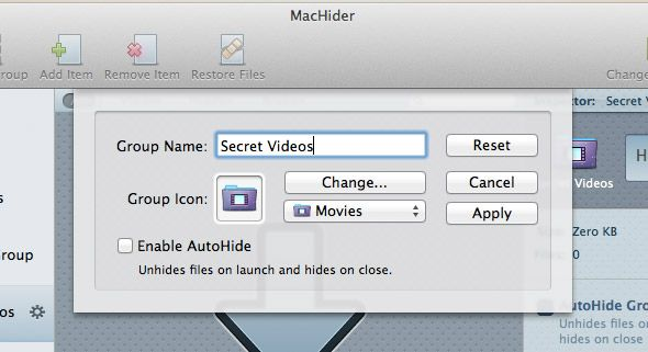 hidden files mac os x