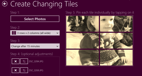 custom tiles on windows 8