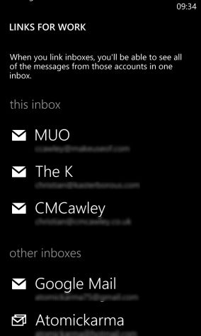 windows phone 8 email setup