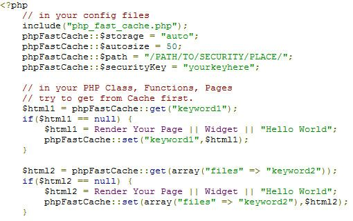 PHP Fast Cache: Use PHP Caching To Lessen Database Load & Speed Up Your Web Apps