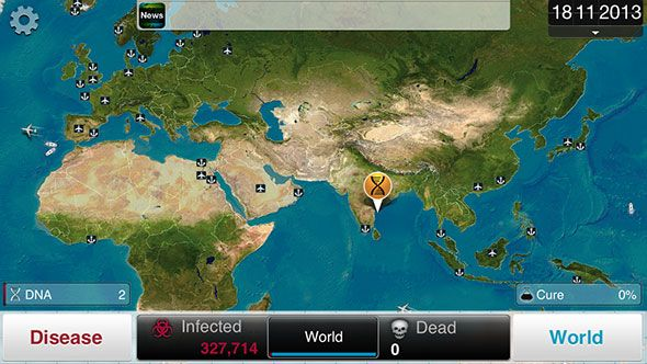 Nerd It Up With 6 Awesome iOS & Android Simulation Games plague inc1