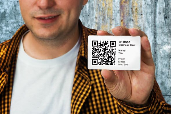 Rethinking The Business Card qrcodebusinesscard
