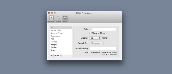 find recently opened files mac
