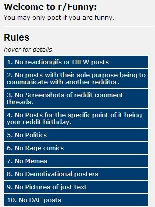 what not to do on reddit