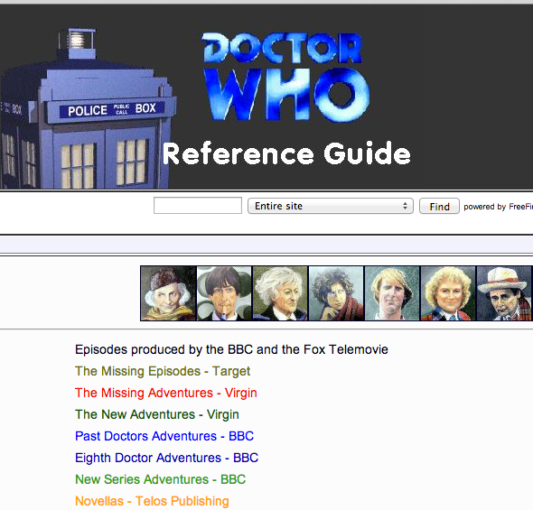 doctor who website