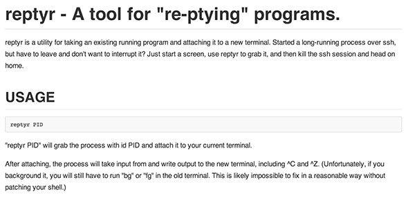 a command line tool