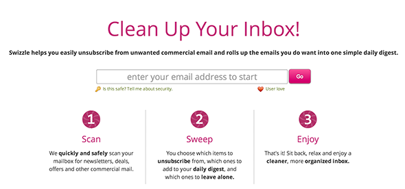 unsubscribe from mailing lists