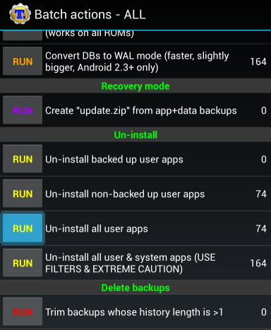 batch uninstall android