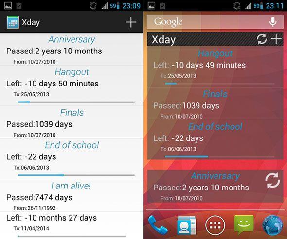 countdown timer app