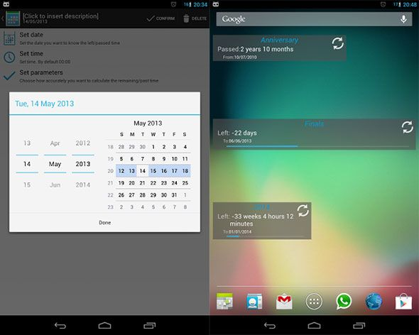 xday for android at google play