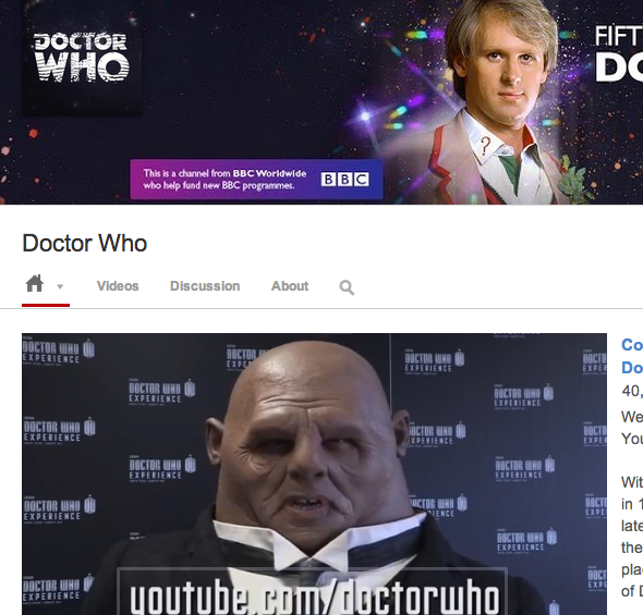 doctor who site