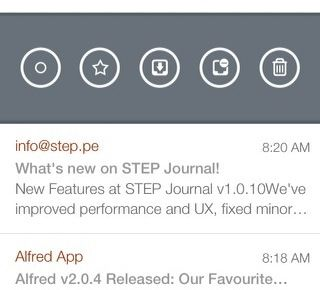 email client for iphone