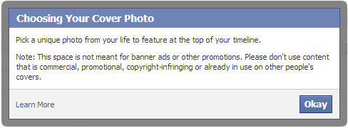 About Choosing Facebook Cover Photo