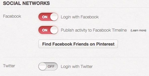 integrate pinterest and facebook