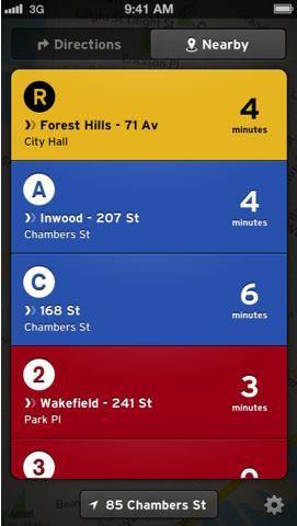 find public transportation routes