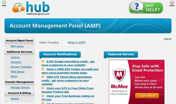 Start Your Own Blog Effortlessly With Web Hosting Hub [Giveaway] amp1 login