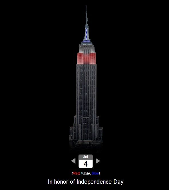 10 Peculiarly Pointless Websites That Exist For No Reason empire state building colors