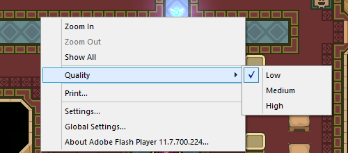 flash game performance