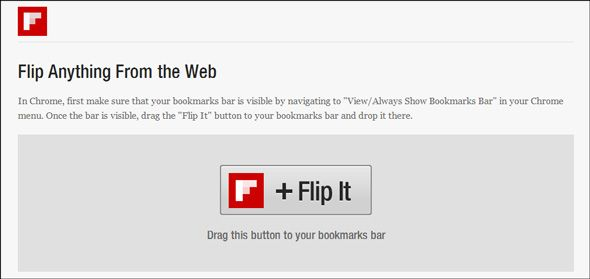flipboard magazine bookmarklet