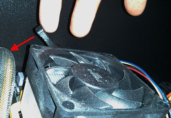 how to mount a cpu fan