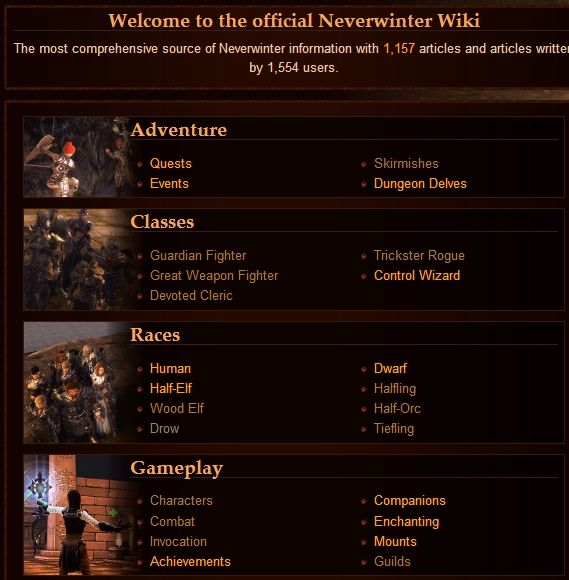 Check Out These 5 Links Before You Start Playing Neverwinter