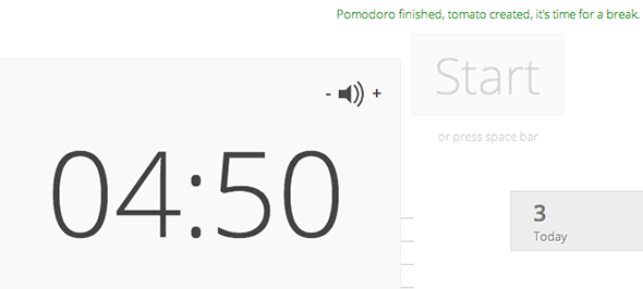 tomato timer time management