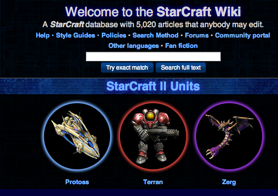 starcraft ii website