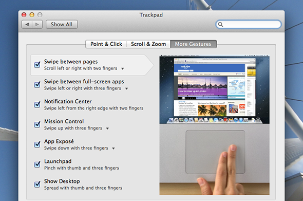 macbook trackpad tips and tricks