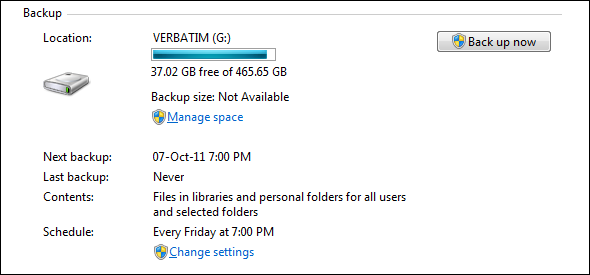 backup files windows 7