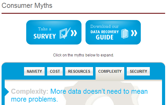 Data Recovery Consumer Myths