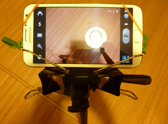 Super Zoom & Lens Tips for Your Smartphone Double Binder Clips Smartphone Tripod Mount