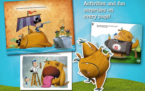 4 Gorgeous Interactive Android eBooks For Kids Kids Ebooks Monster2